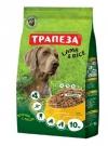 Корм Трапеза ягненок для взрослых собак с ягненком