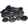 Грунт-галька Шлифованный Черный средний 1кг