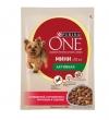 """Purina One паучи для взрослых собак малых пород с говядиной, картофелем и морковью в подливе """"Непоседа"""", One My Dogis Active"""